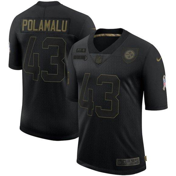 Pittsburgh Steelers Troy Polamalu Jersey